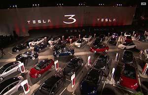 Les 30 premières Tesla Model3 livrées aux employés