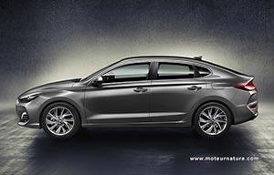 Hyundai ajoute le fastback à sa compacte i30