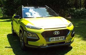 Hyundai Kona: très prometteur