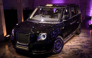 Le taxi londonien électrifié est arrivé