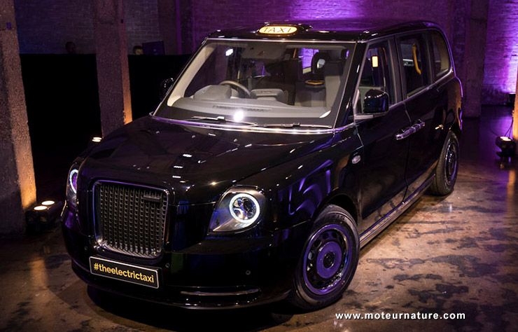 London EV Company taxi hybride rechargeable
