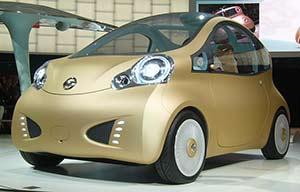 Pour la Chine: la Nissan électrique à 12000€