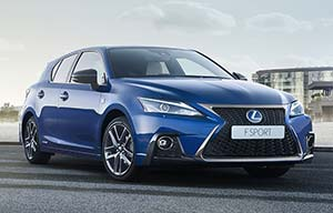 Restyling surprise pour la Lexus CT200h