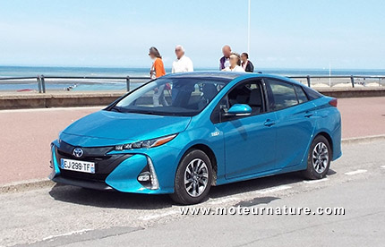 Toyota Prius hybride rechargeable