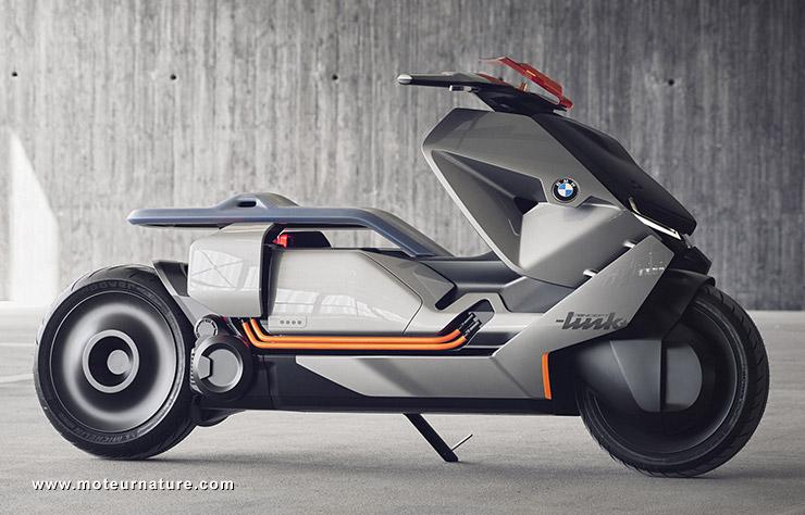 bmw s 39 affirme leader du design des scooters lectriques. Black Bedroom Furniture Sets. Home Design Ideas