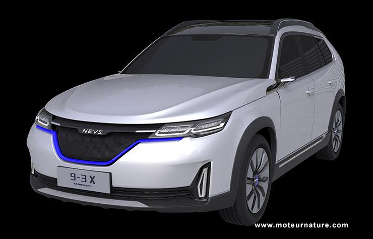 SUV électrique NEVS 9-3 X