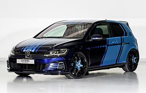 Volkswagen Golf GTI hybride light, mais high power