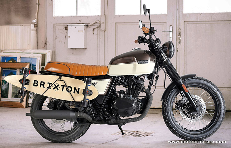 Moto Brixton BX125 SK8