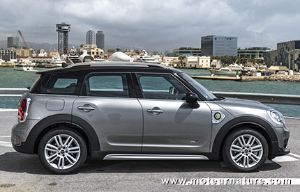 MINI Cooper S E Countryman ALL4 hybride rechargeable