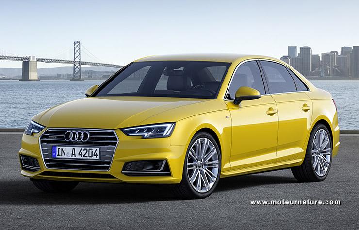 Les roues vertes de MoteurNature : Audi A4 TFSI ultra S tronic