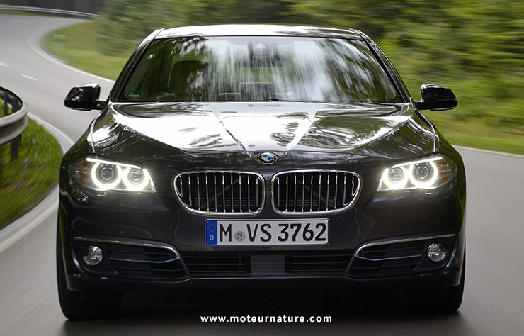 Les roues vertes de MoteurNature : BMW 520d EfficientDynamics Edition