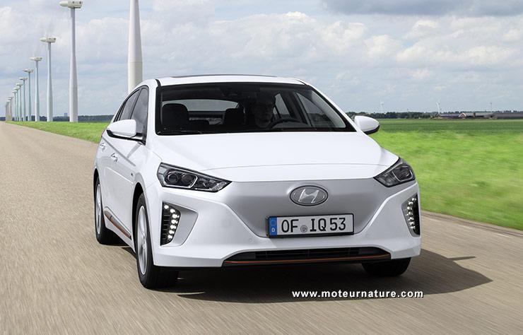 Les roues vertes de MoteurNature : Hyundai Ioniq Electrique