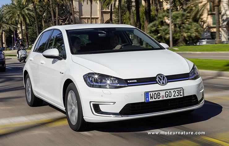 Les roues vertes de MoteurNature : Volkswagen E-Golf
