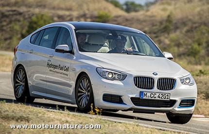 BMW avec une pile à combustible à hydrogène