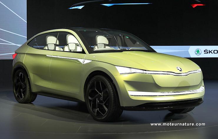 Skoda Vision E concept électrique