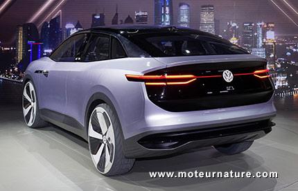 Volkswagen I.D. CROZZ concept électrique