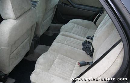 Lancia Kappa avec intérieur en alcantara