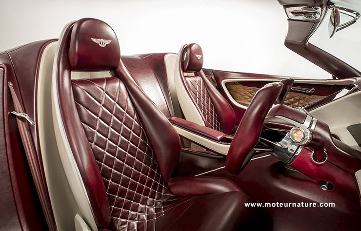 Bentley EXP12 Speed 6e concept électrique