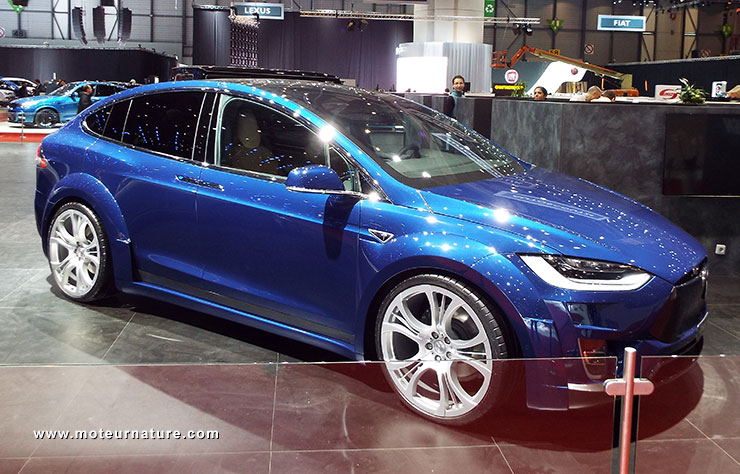 FAB Design Tesla ModelX