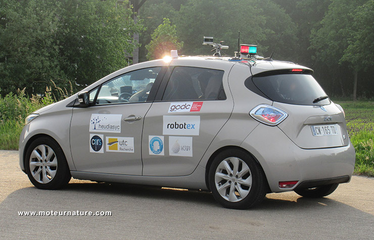 Renault Zoé autonome prototype