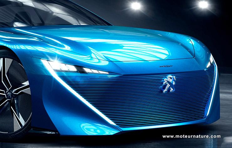 Peugeot Instinct concept-car