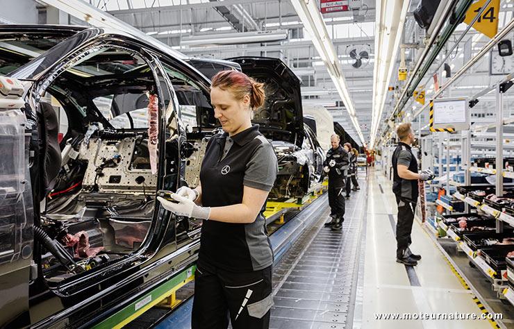 Usine Mercedes de Sindelfingen