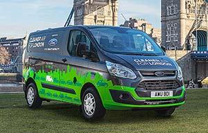 Ford va tester des Transit hybrides rechargeables à Londres