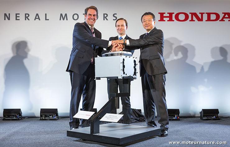 Pile à combustible GM Honda