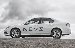 La voiture électrique de NEVS ex-Saab sera produite