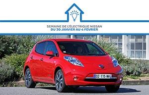 Offre spéciale, à l'achat d'une électrique, Nissan offre l'électricité pour la maison