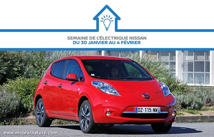 Semaine de l'électrique chez Nissan