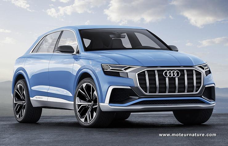 Exceptionnel Hybride rechargeable, la Q8 sera t-elle la plus belle Audi ? EH28