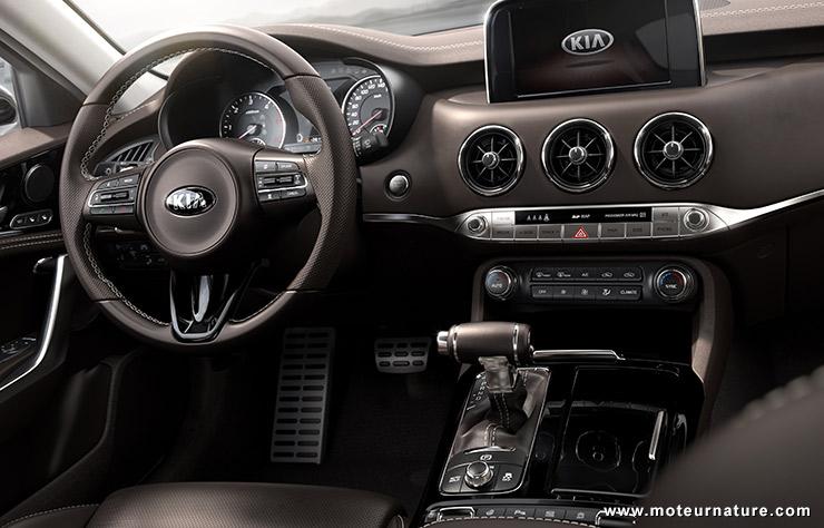 269 km/h pour la Kia Stinger GT Biturbo