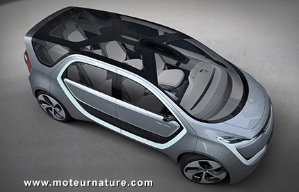 Concept Chrysler Portal minivan électrique