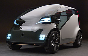 Honda New Electric Urban Vehicle, mieux qu'une Smart ?