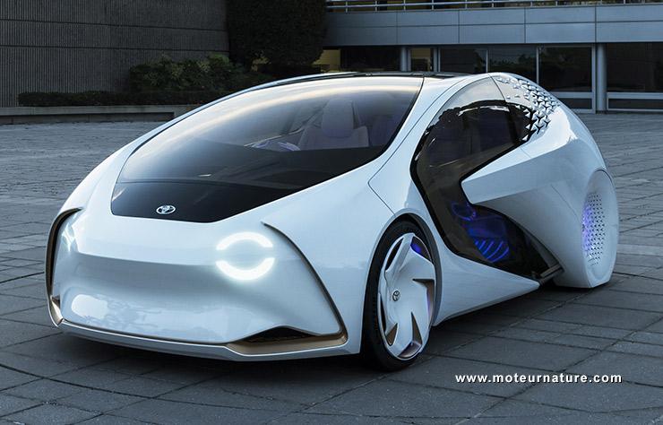 Hyundai Ioniq Electric >> Toyota Concept-i : l'arrivée d'une intelligence artificielle