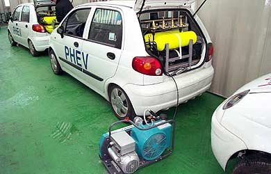 Voiture à air