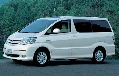 toyota alphard monospace hybride 3 moteurs. Black Bedroom Furniture Sets. Home Design Ideas