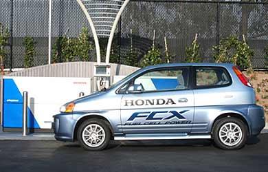 Pompe à hydrogène Honda