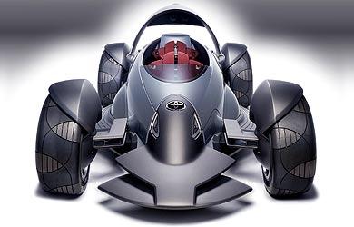 Toyota Motor Triathlon Race Car