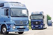 Poids lourds Mercedes Bluetec
