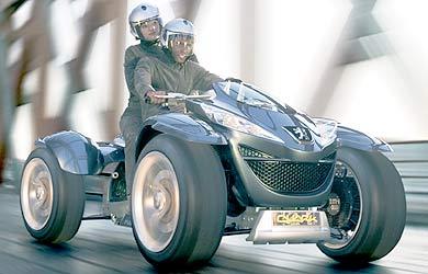Peugeot Quark, le quad à PAC