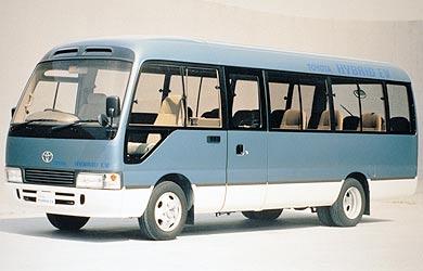 Toyota bus hybride