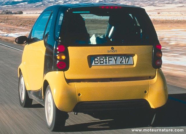 500 000 km dans une smart fortwo for Interieur smart 2000