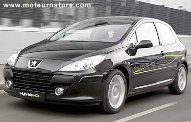 Peugeot 307 et Citroën C4, les hybrides HDI de PSA sont la ...