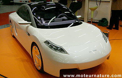 surface frontale voiture