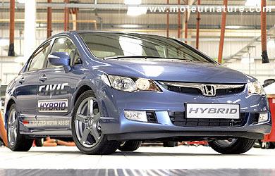 Essai Civic hybride