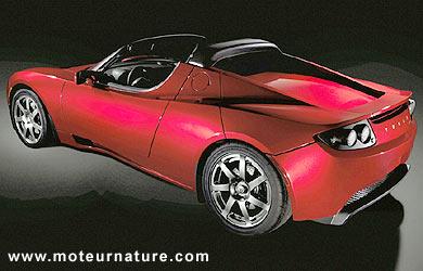 le roadster tesla une voiture de sport lectrique anglo am ricaine pour 2007. Black Bedroom Furniture Sets. Home Design Ideas