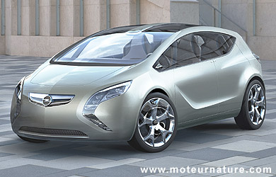Opel Flextreme diesel hybride