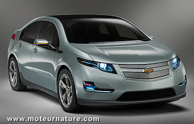 chevrolet volt la premi re voiture hybride rechargeable de s rie est d voil e. Black Bedroom Furniture Sets. Home Design Ideas